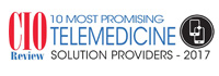 10 Most Promising Telemedicine Solution Providers - 2017